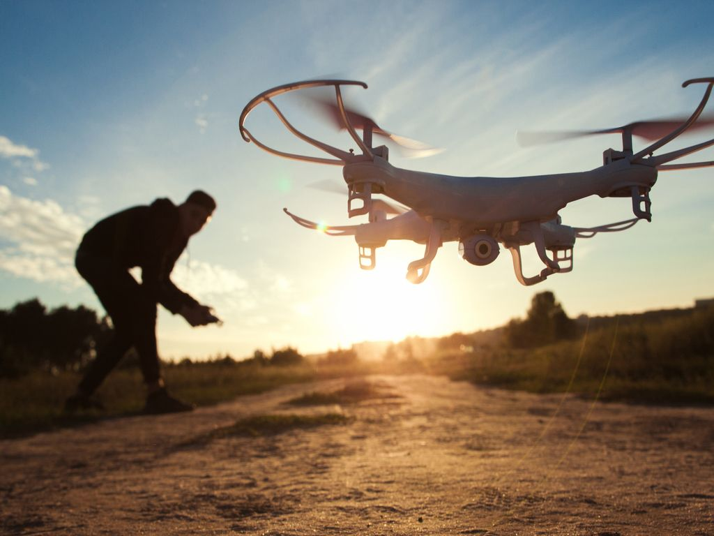 Drones e robótica